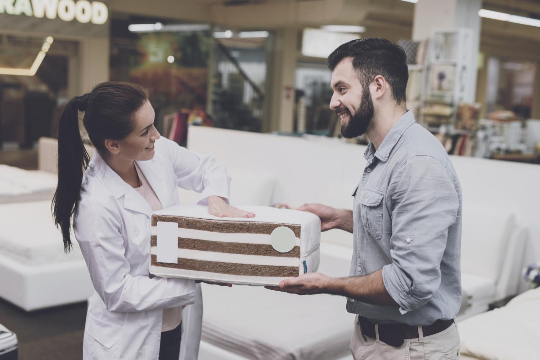 elastyczność punktowa i powierzchniowa w materacu