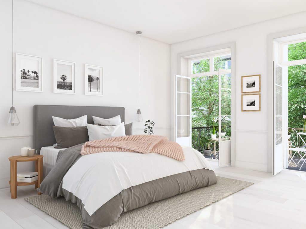 przedłuż życie materaca, sypialnia z łóżkiem
