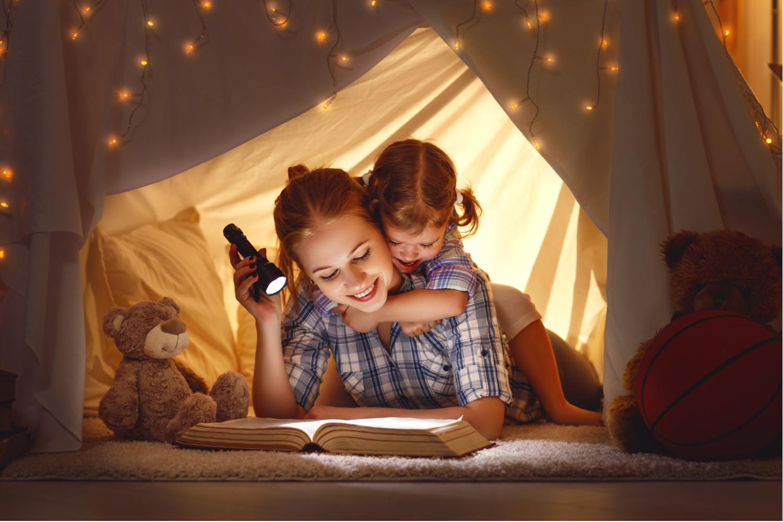 czytanie dziecku na dobranoc