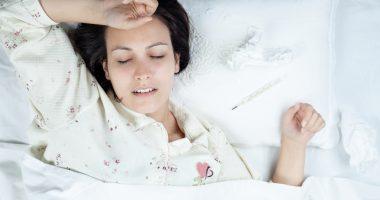 sen podczas grypy