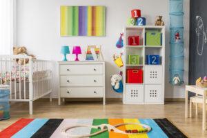 aranżacja pokoju dla dziecka, kolorowy pokój dla dziecka